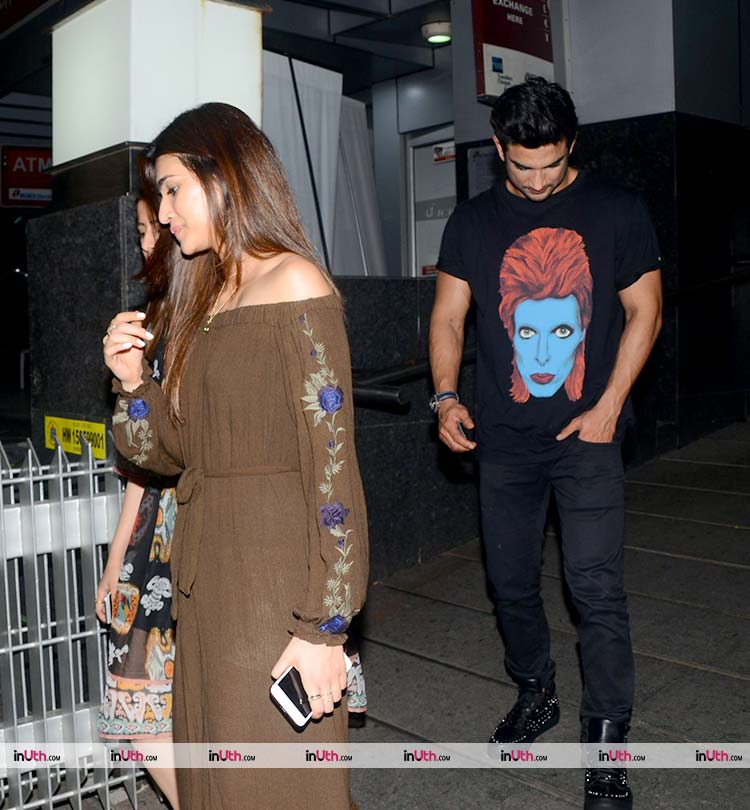 Sushant Singh Rajput takes Kriti Sanon out for a dinner date