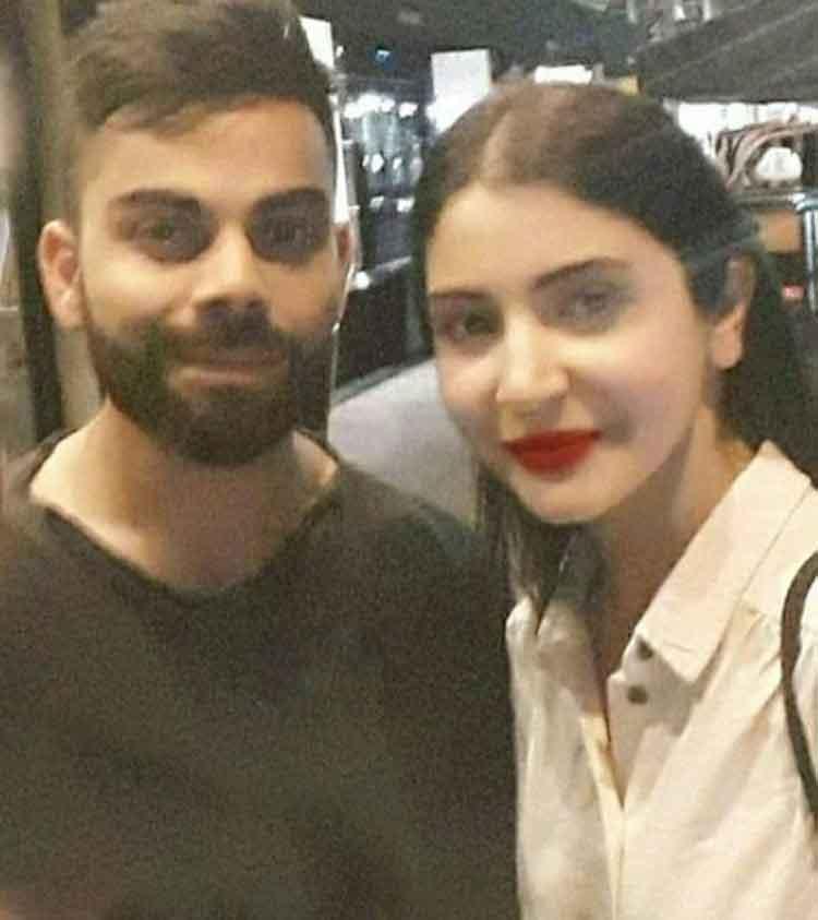 Virat Kohli and Anushka Sharma look super hot together