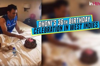 MS Dhoni's 36th Birthday