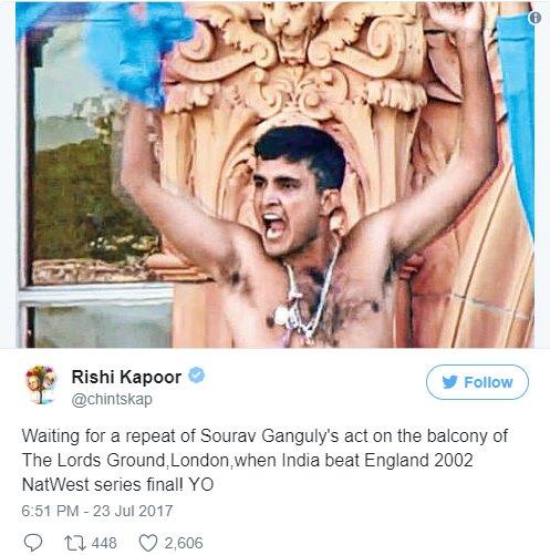 Rishi Kapoor tweet