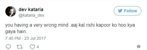 Rishi Kapoor trolled