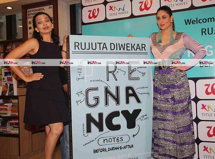 Kareena Kapoor launching Rujuta Diwekar's book