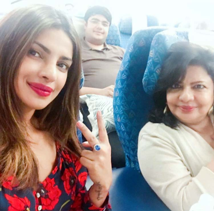 Priyanka Chopra with family on birthday vacation