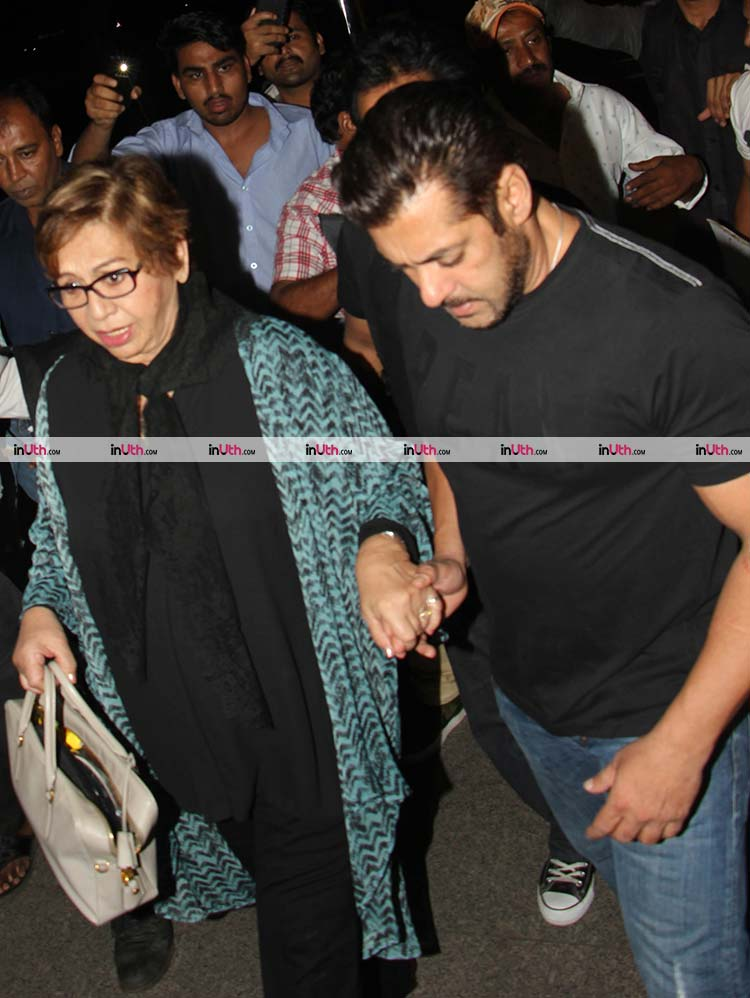 Salman Khan and Helen all geared up for IIFA 2017