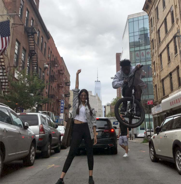 Sonam Kapoor spilling fun on the New York cities