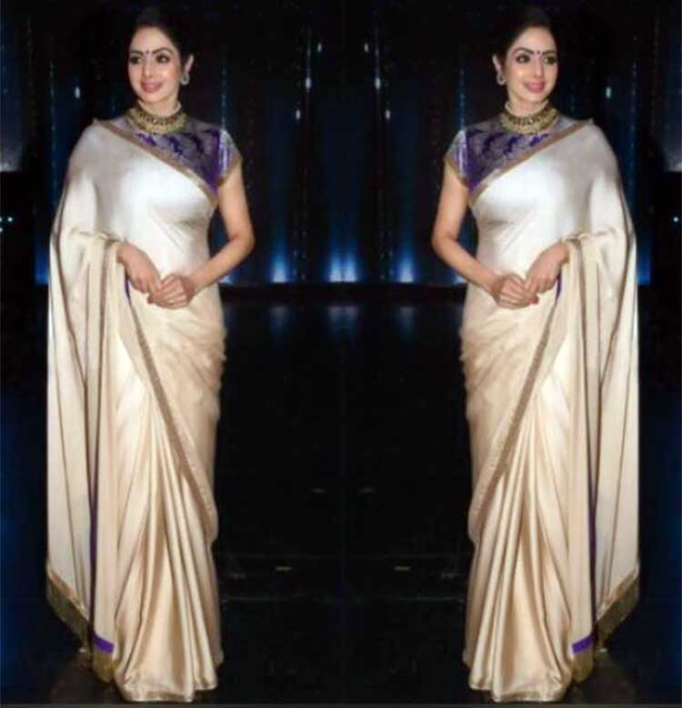 Sridevi looked like a goddess on Nach Baliye 8 for Mom promotions