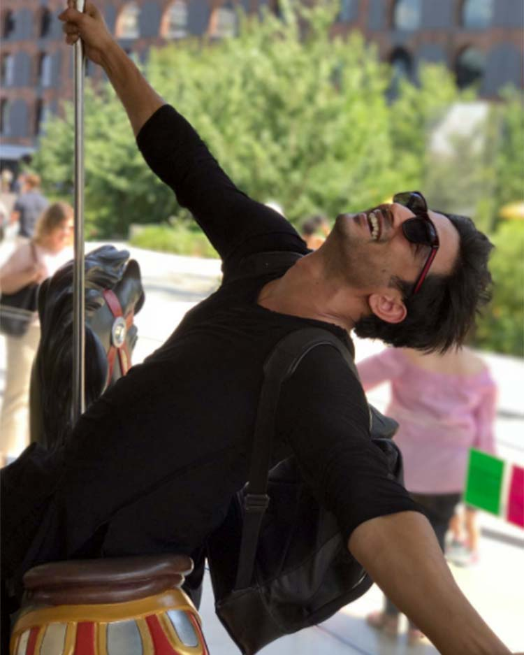 Sushant Singh Rajput is having a svelte time in New York