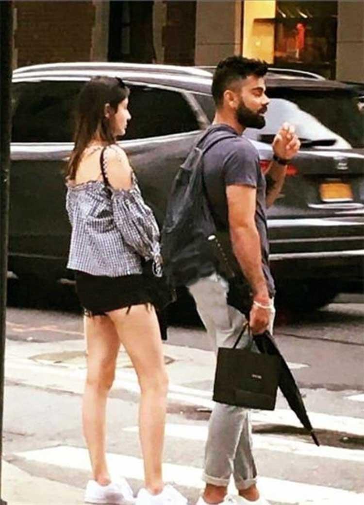 Virat Kohli and Anushka Sharma in New York