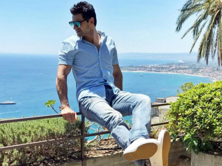 Vivek Dahiya enjoying life in Italy
