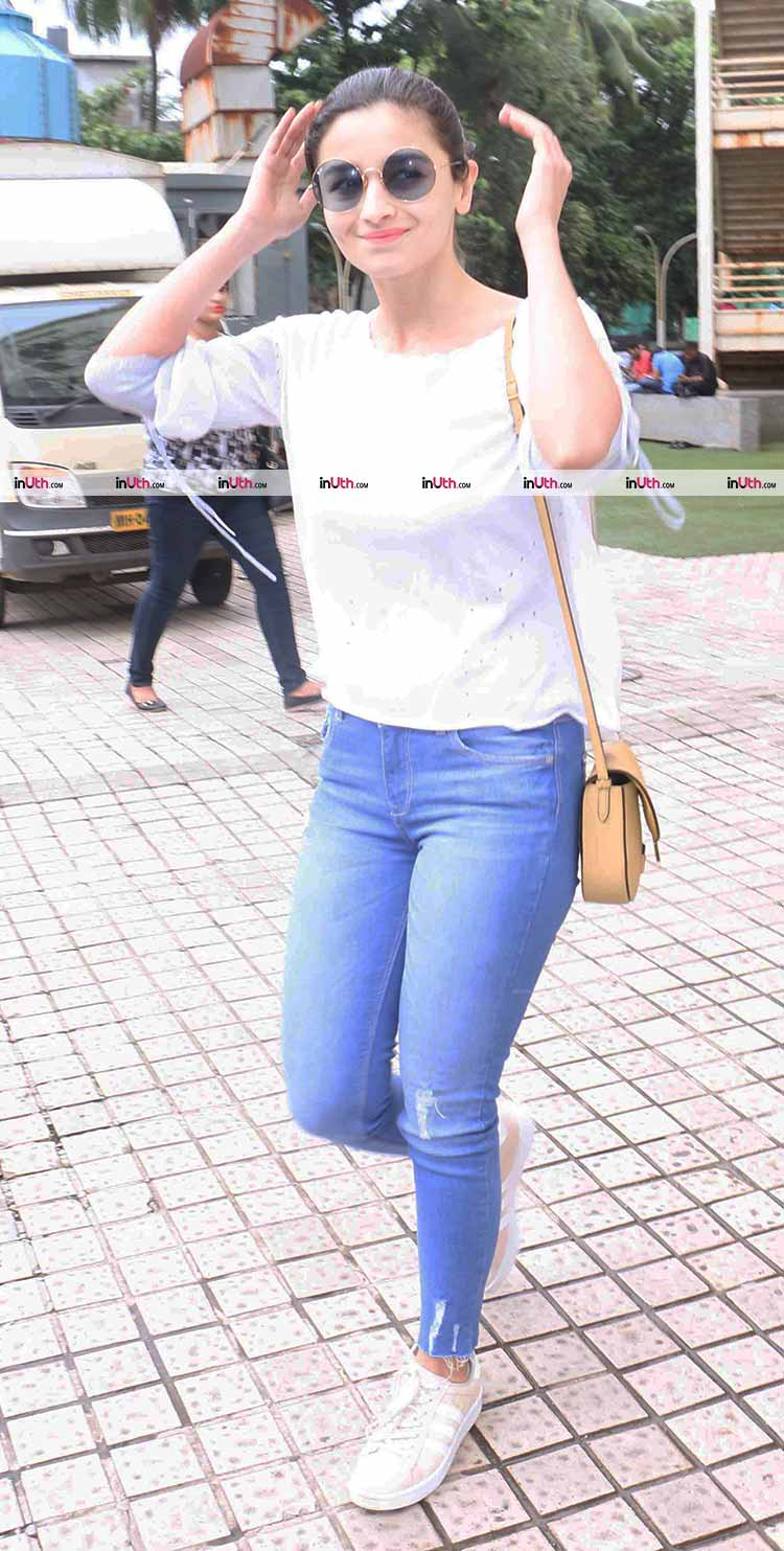Alia Bhatt spotted in Mumbai after an outing with mother