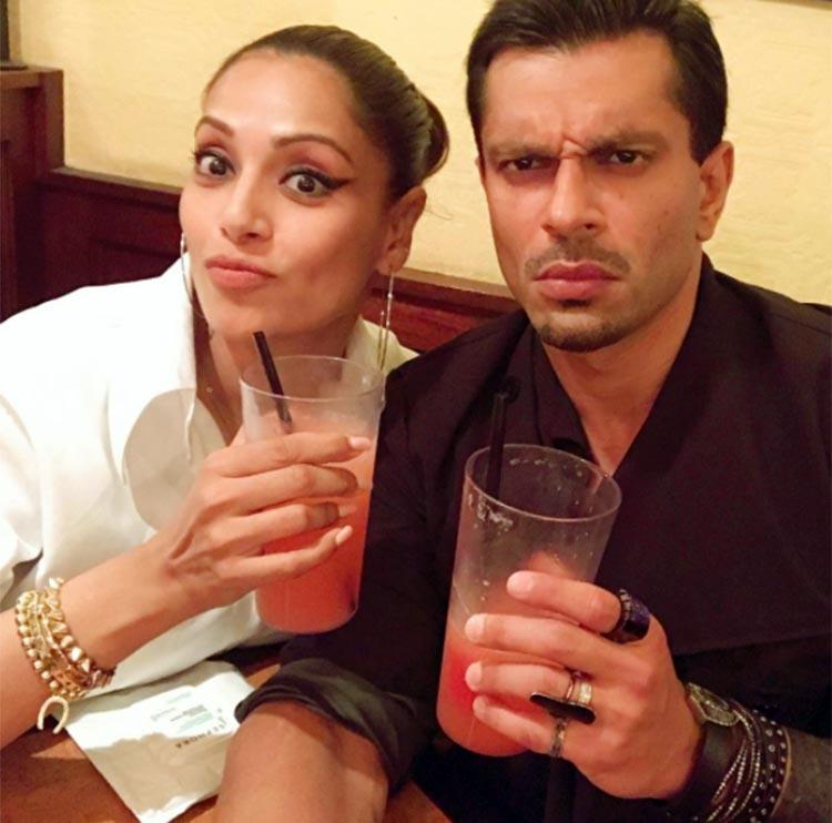 Bipasha Basu and Karan Singh Grover enjoying in New York