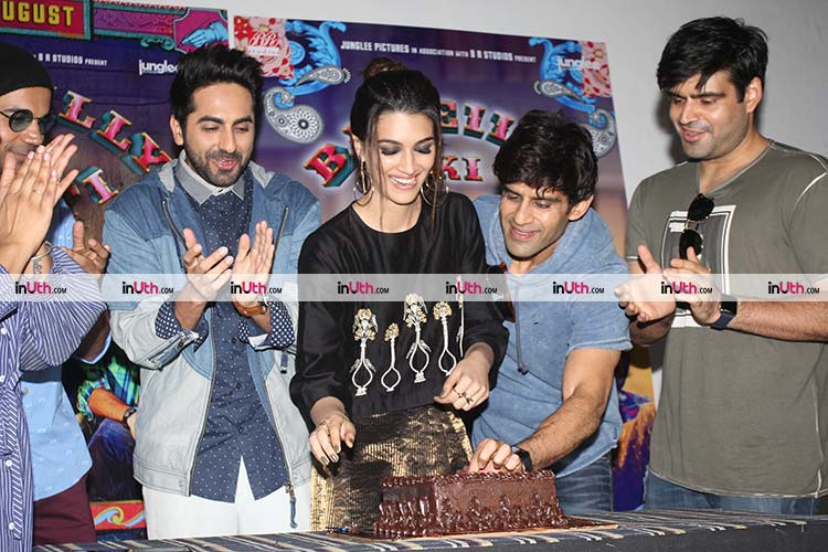 Kriti Sanon celebrating her birthday