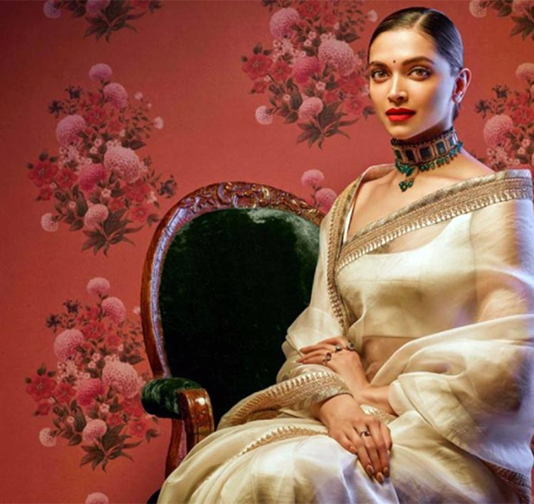 Deepika Padukone is unbelievably stunning in this Sabyasachi saree