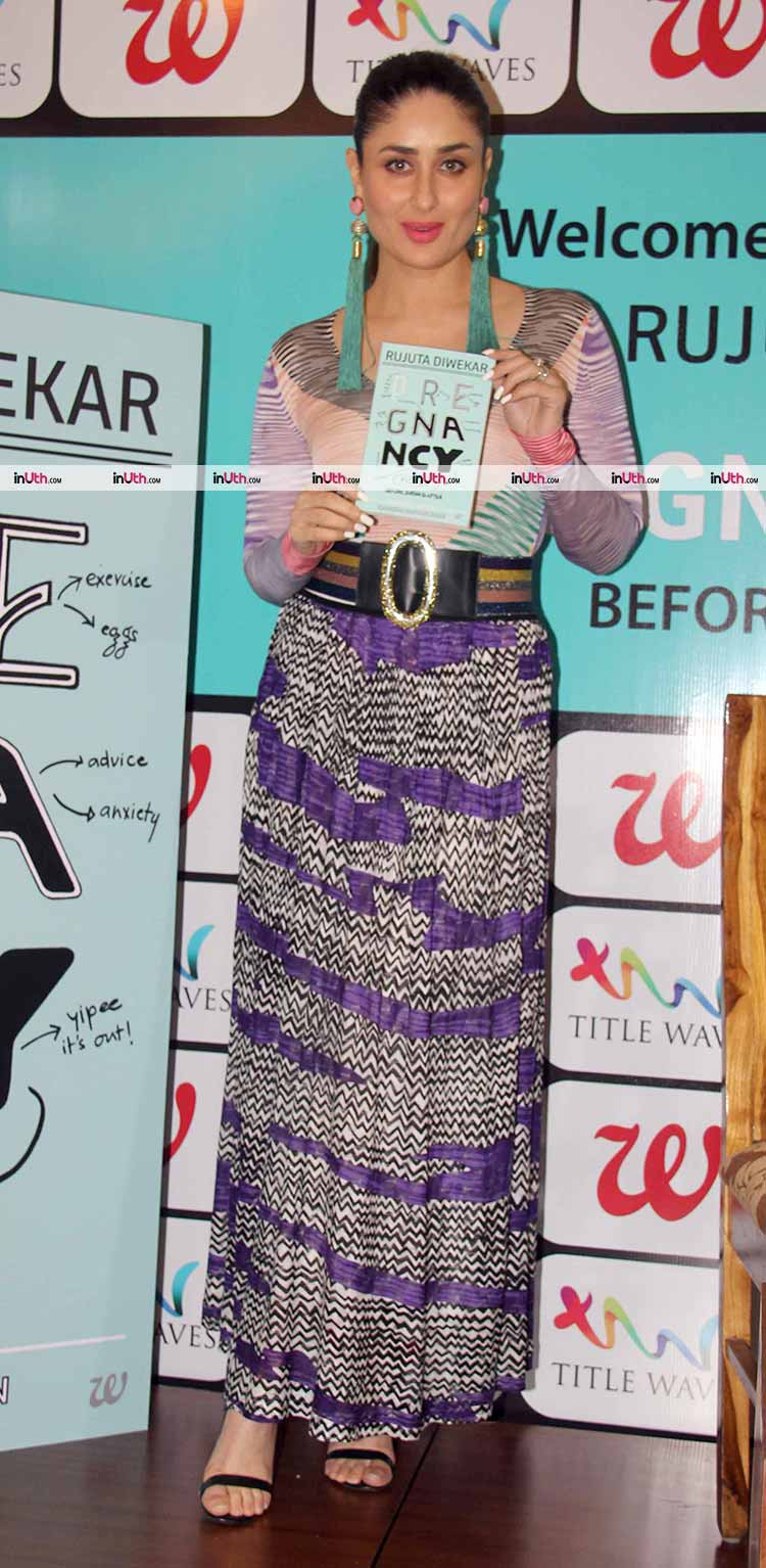 Kareena Kapoor launches Pregnancy Notes by Rujuta Diwekar