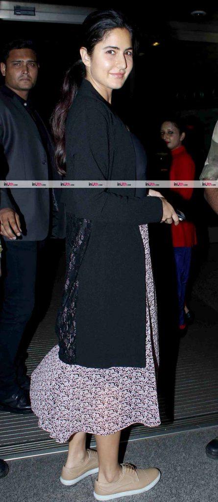 Katrina Kaif leave for the 18th IIFA festival