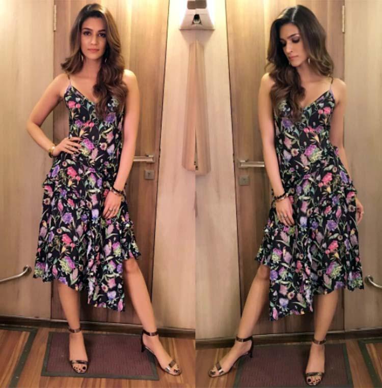 Kriti Sanon's perfect shift dress for Bareilly Ki Barfi promotions