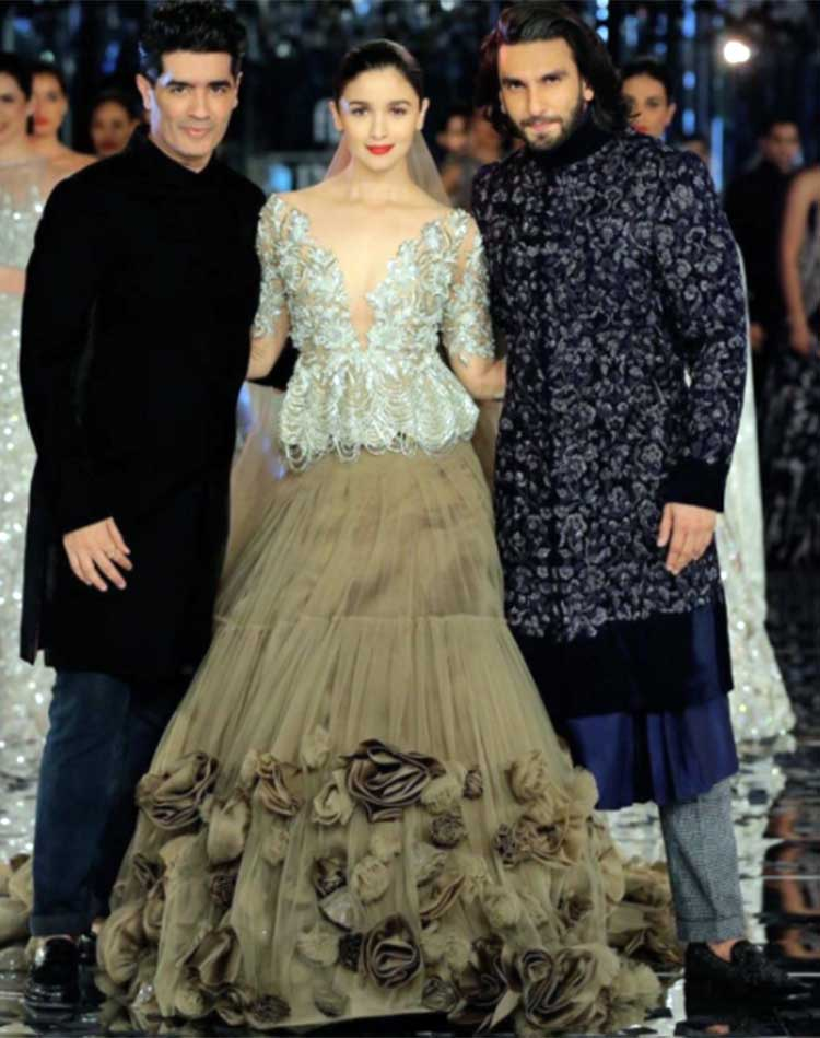 Manish Malhotra, Alia Bhatt, Ranveer Singh finish off the ICW 2017