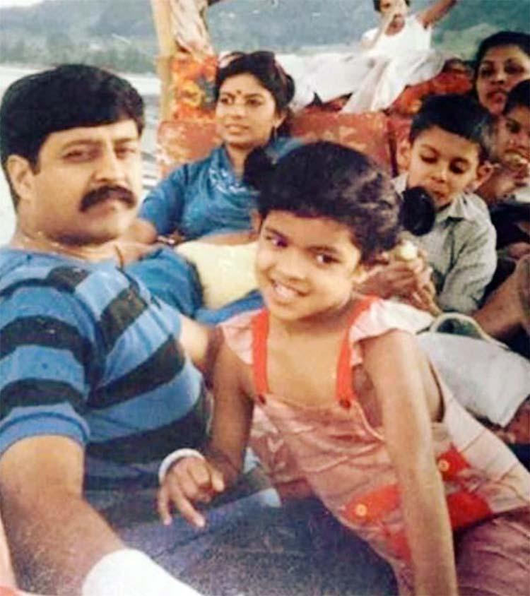 Priyanka Chopras Cute Childhood Photo