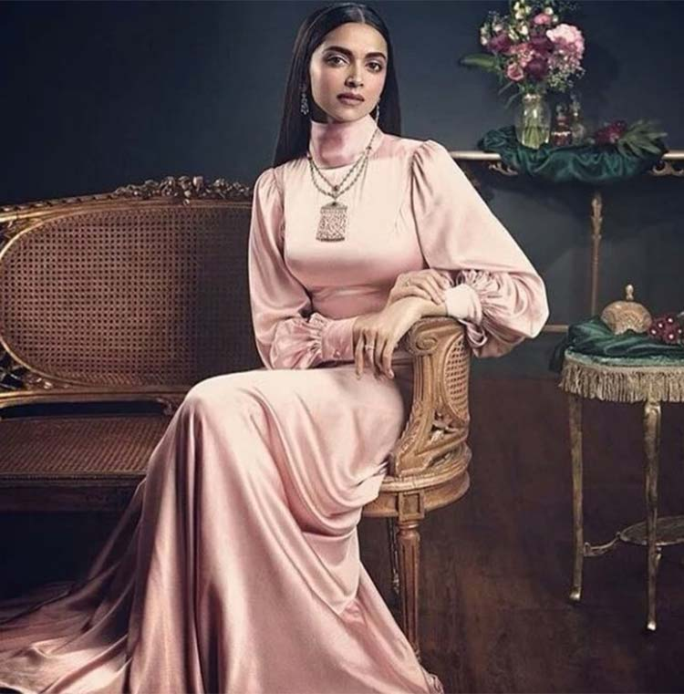 Deepika Padukone turns the vintage muse for Tanishq