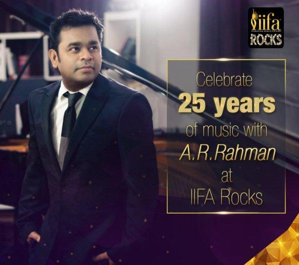 AR Rahman at IIFA 2017