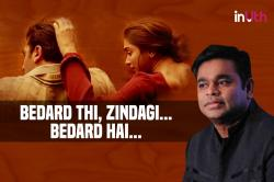 AR Rahman reveals his thoughts while composing the ever so soulful Agar Tum Saath Ho - Exclusive