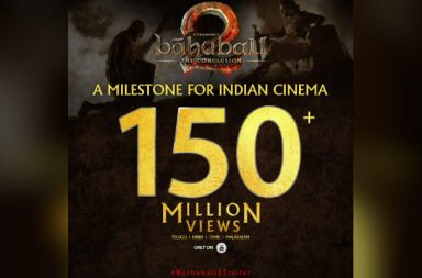 Baahubali 2 trailer corsses 50 million views on youtube