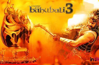 Baahubali 3 plot, Baahubali 3 fan made poster