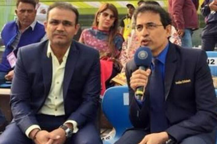 Virender Sehwag wishes Harsha Bhogle Happy Birthday, calls him SHAKESPEARE of commentary