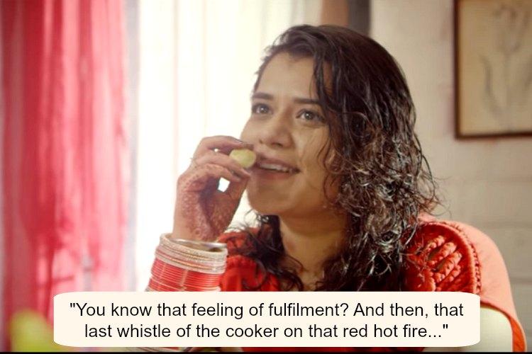 Mother daughter Khaney Mein Kya Hai Blush video