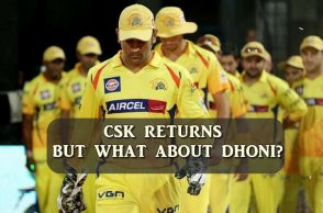 Chennai Super Kings, MS Dhoni, IPL 2018