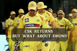 Chennai Super Kings is officially back in IPL 2018 post two-year ban, MS Dhoni expected to return as captain