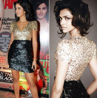 Katrina Kaif and Deepika Padukone