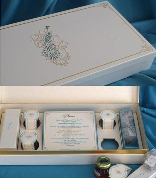 Wedding invite - Shahid Kapoor and Mira Rajput
