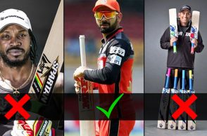 Virat Kohli bat, Chris Gayle bat, MS Dhoni bat, New bat rules, MCC new rules