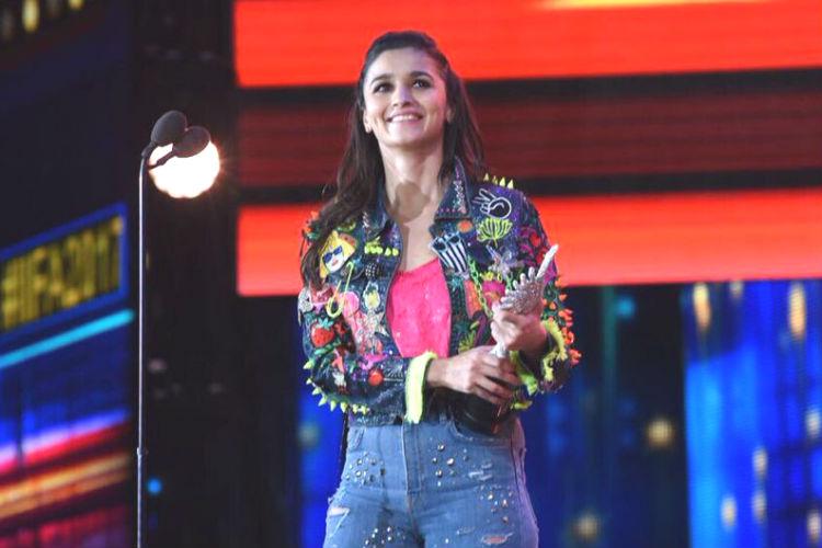 Alia Bhatt, IIFA 2017