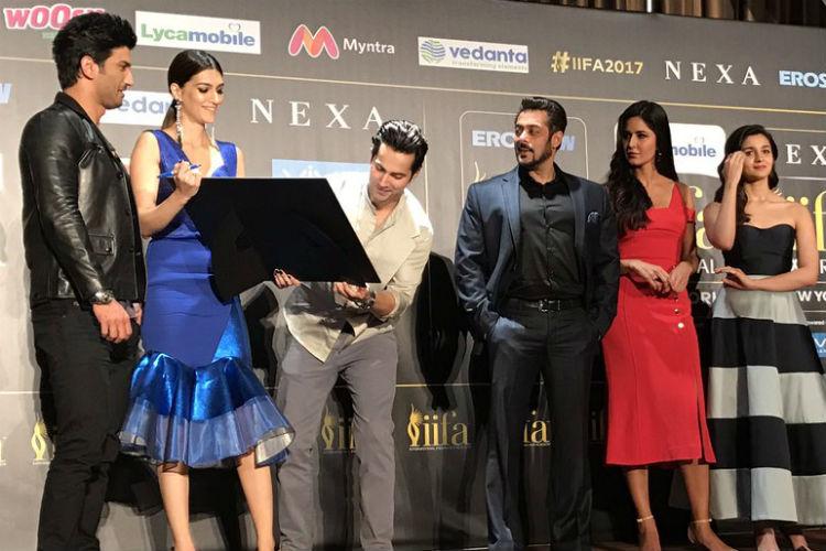 Salman Khan, Katrina Kaif, IIFA 2017