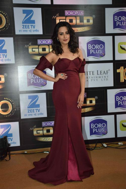 Anita Hassanandani Reddy at Zee Gold Awards