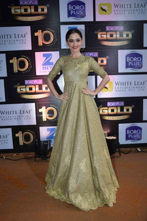 Sanjeeda Sheikh at Zee Gold Awards