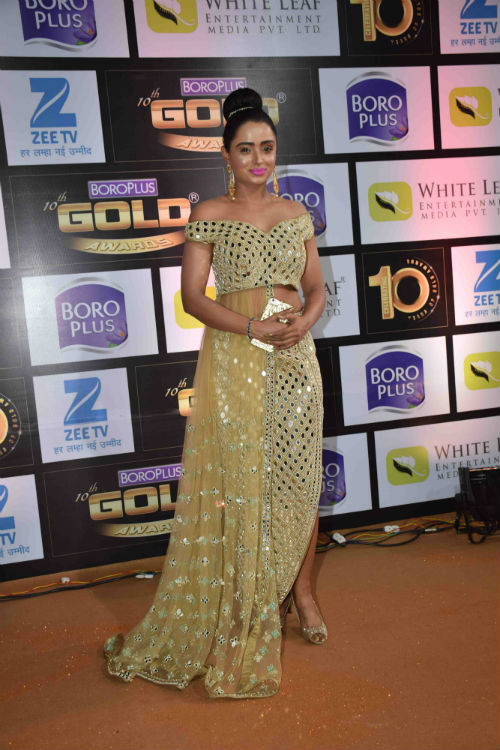 Parul Chauhan at Zee Gold Awards