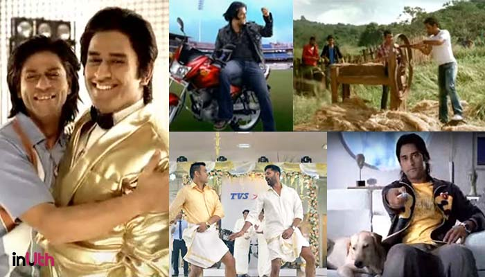 Image result for dhoni endorsement collage