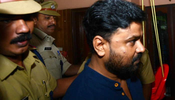 Dileep arrest in actress abduction case, IANS photo