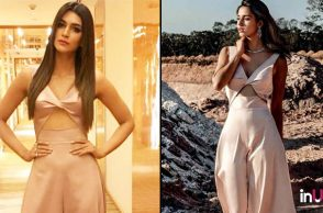 Kriti Sanon and Disha Patani in Lola By Suman B's jumpsuit