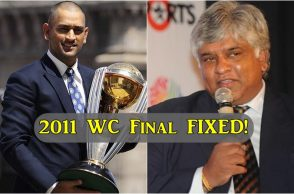 Arjuna Ranatunga, India vs Sri Lanka World Cup final