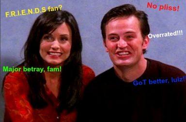 F.R.I.E.N.D.S, FRIENDS sitcom
