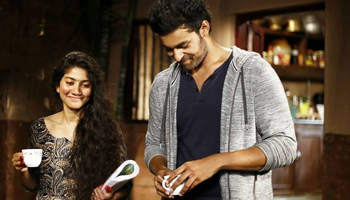 A still from Fidaa featuring Sai Pallavi and Vikram Tej