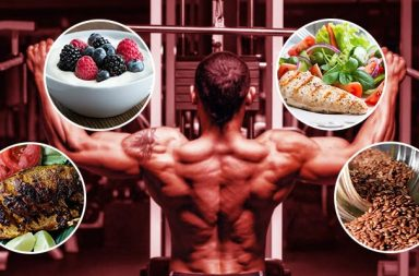 Food that helps in muscle building