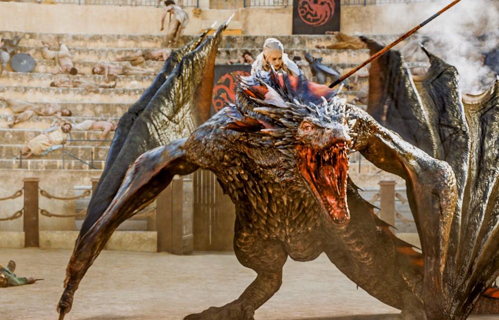 Game of Thrones S07E02: Are Daenerys Targaryen's dragons ...  Game Of Thrones Dragons Season 5