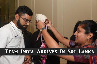 Team India Arrives in Sri Lanka, Virat Kohli, Ravi Shastri