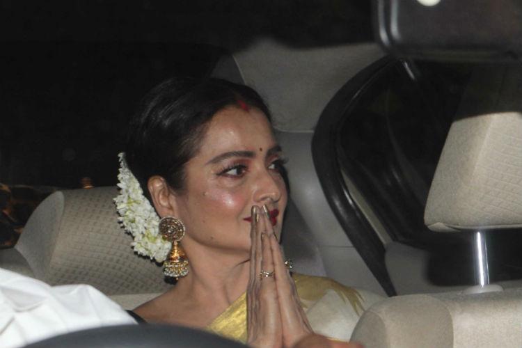 Rekha, Mom Screening