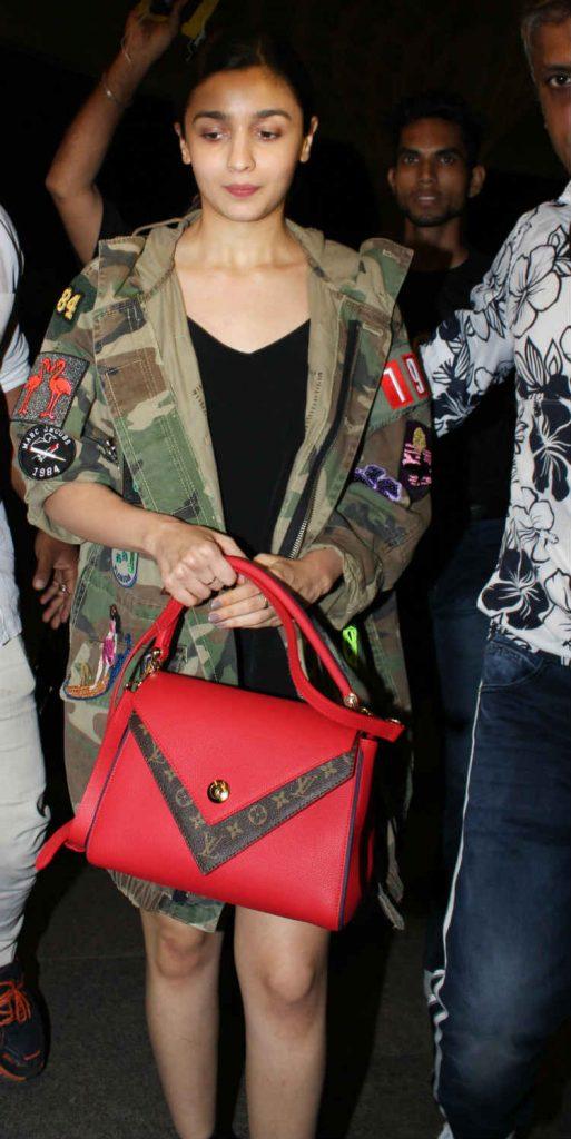 Alia Bhatt at the airport